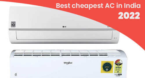 best cheapest AC in India 2022